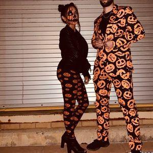 Pants - Pumpkin Leggings